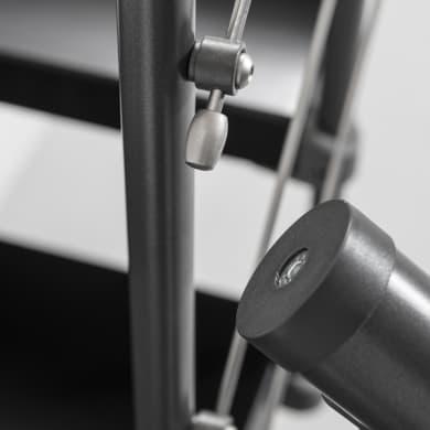 Balaustra FONTANOT in acciaio antracite L 120 x H 0 cm