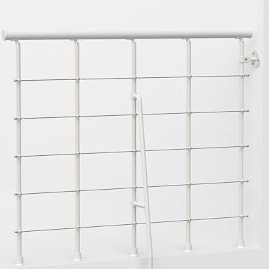 Balaustra FONTANOT in acciaio bianco L 120 x H 0 cm