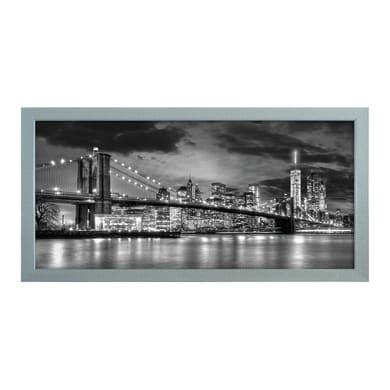 Quadro con cornice New York 150x80 cm