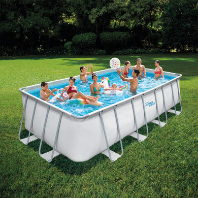 Piscina fuori terra rettangolare SUMMER WAVES 18FT rectangular frame pool
