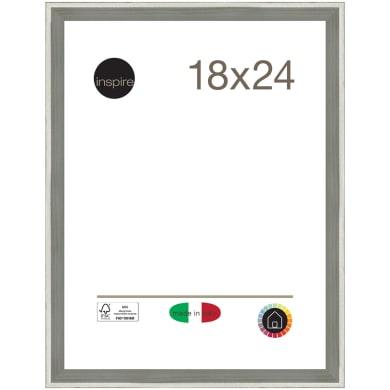 Cornice Diagonal argento per foto da 18x24 cm