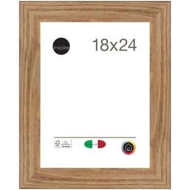 Cornice Maussane rovere per foto da 18x24 cm