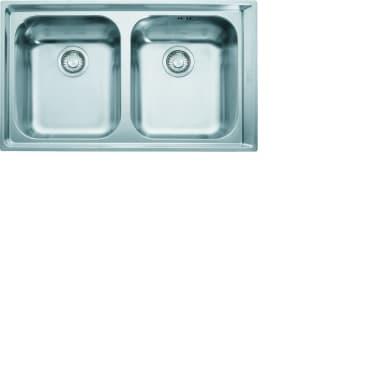 Lavello da incasso Neptune plus 86 x 51 cm 1.5 vasche