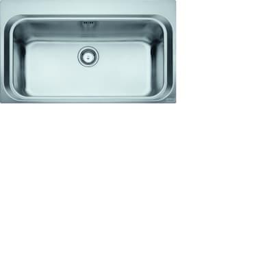 Lavello da incasso Acquario 86 x 51 cm 1 vasca