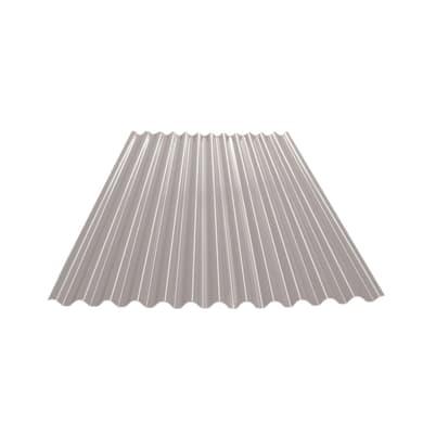 Lastra ondulata TECNOIMAC Ecolina in polimglass® 110 x 200 cm, Sp 1.8 mm grigio