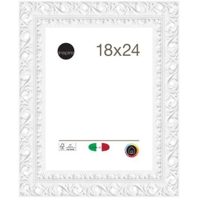 Cornice Bucaneve bianco per foto da 18x24 cm