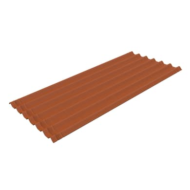 Lastra isolante ONDULINE Easyfix in bitume 81 x 200 cm, Sp 2 mm marrone