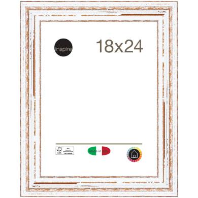 Cornice Aspen bianco per foto da 18x24 cm