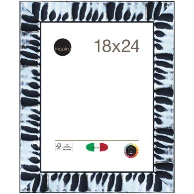 Cornice Sospiro nero per foto da 18x24 cm