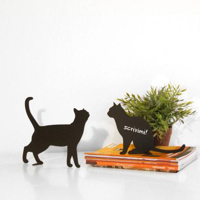 Lavagna per gesso Silhouettes two cats nero 31x31 cm