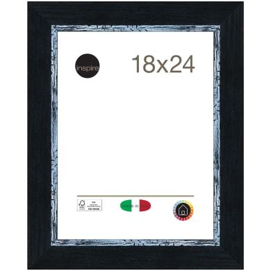 Cornice Maussane nero per foto da 18x24 cm