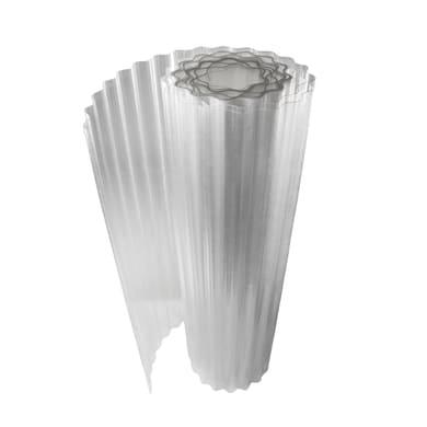 Rotolo ONDULINE Onduclair Plr Ondulato in poliestere 100 x 500 cm, Sp 1 mm neutro