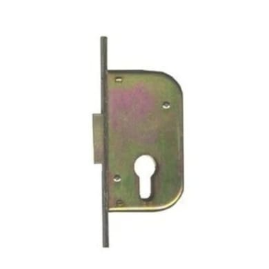 Serratura a incasso cilindro per cancello o rete, entrata 3 cm, interasse 0 mm