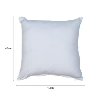Cuscino INSPIRE Leya White bianco 45x45 cm
