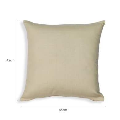 Cuscino INSPIRE Leya Trench beige 45x45 cm