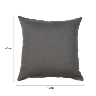 Cuscino INSPIRE Leya Moon grigio / argento 45x45 cm