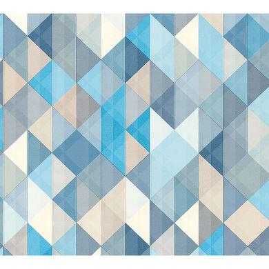 Carta da parati Trendwall Trio beige, 53 cm x 10.05 m