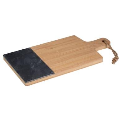 Tagliere in bambù L 37 x H 2 cm