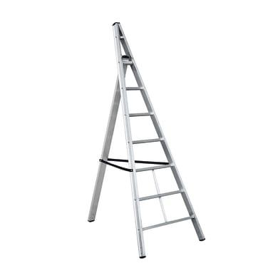 Scala agricola HAILO Trittika in alluminio 6 gradini per lavori fino a 2.7 m