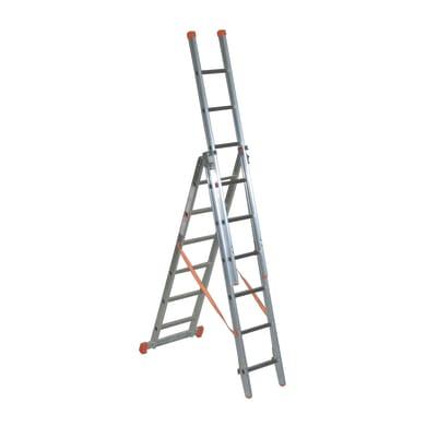 Scala a sfilo FACAL Genia in alluminio per lavori fino a 5.02 m