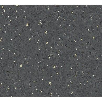 Carta da parati Newstudio Cork nero, 53 cm x 10.05 m