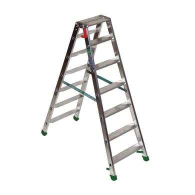 Scala doppia FACAL Dupla in alluminio 7 gradini per lavori fino a 2.5 m