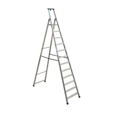 Scala doppia FACAL Quadra in alluminio 12 gradini per lavori fino a 4.5 m