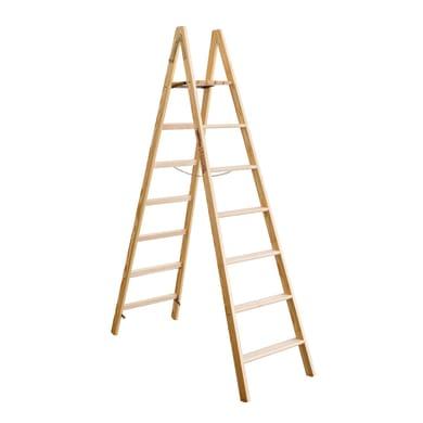 Scala doppia FACAL Pittore in legno per lavori fino a 3.22 m