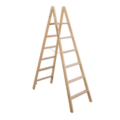 Scala doppia FACAL Pittore in legno 5 gradini per lavori fino a 2.9 m