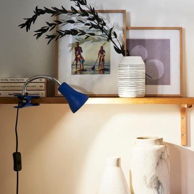 Lampada da scrivania Pop Salta blu , in metallo, INSPIRE