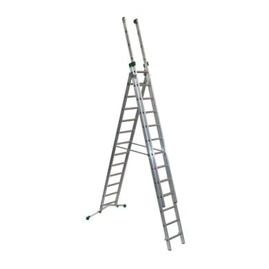 Scala a sfilo FACAL Prima in alluminio per lavori fino a 10.8 m