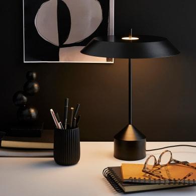 Lampada da tavolo Design Gina nero , in metallo, INSPIRE