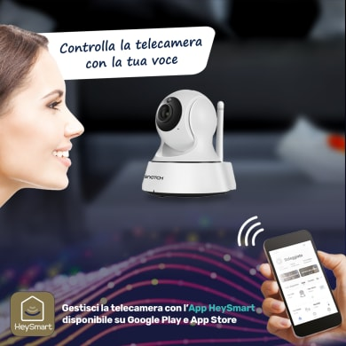 Telecamera ip ISNATCH HeyCamPlus