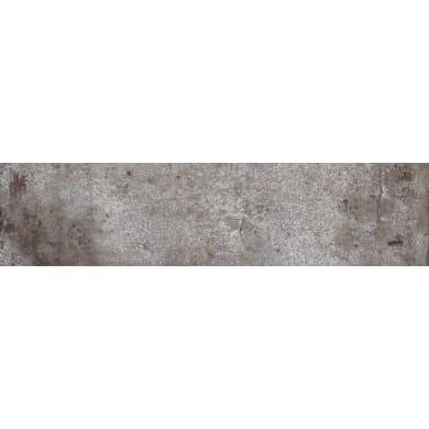 Piastrella da pavimento Tribeca mud 6 x 25 cm sp. 9.5 mm PEI 5/5 mud