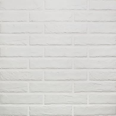 Piastrella da pavimento Tribeca 6 x 25 cm sp. 8 mm PEI 5/5 white