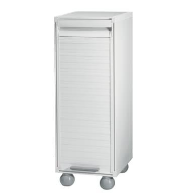 Armadietto basso Ice L 33 x P 35 x H 92 cm bianco