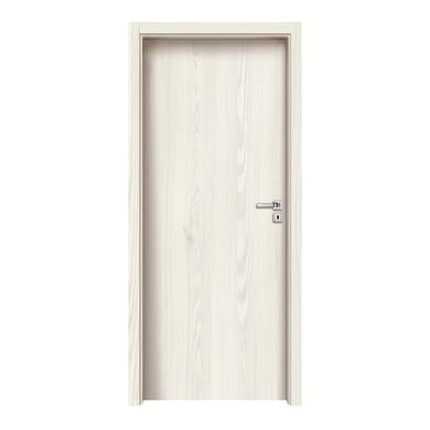 Porta a battente Ivory bianco L 70 x H 210 cm reversibile