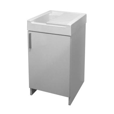 Mobile lavanderia Evo bianco L 44.2 x P 52.5 x H 84 cm