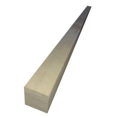 Listello piallato abete 3 m x 80 mm, Sp 80 mm 2 pezzi