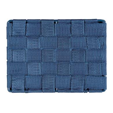 Cestino bagno / doccia L 19 x P 14 x H 10 cm Adria blu