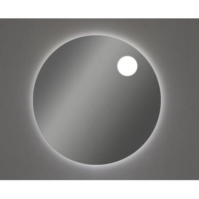 Specchio con illuminazione integrata bagno rotondo ONE L 90 x H 90 cm
