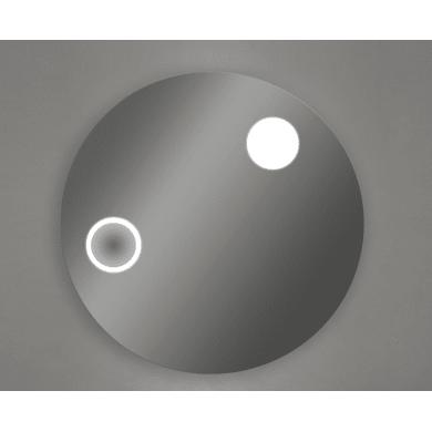 Specchio con illuminazione integrata bagno rotondo HORIZON L 90 x H 90 cm