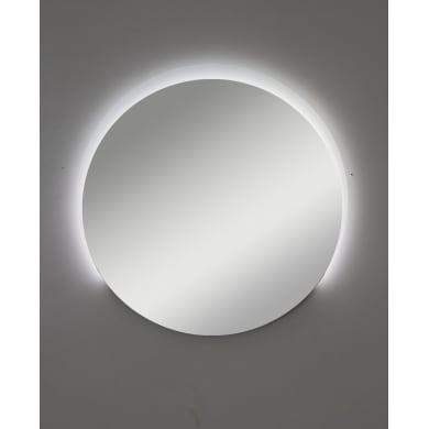 Specchio con illuminazione integrata bagno rotondo MATRIX L 106 x H 106 cm