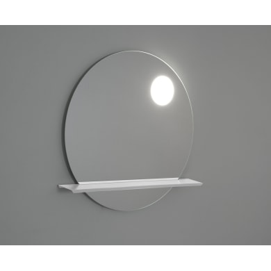 Specchio con illuminazione integrata bagno rotondo POINT L 90 x H 90 cm