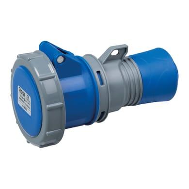 Presa industriale ROSI CEE 2P+T grigio e blu