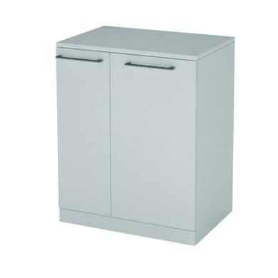 Mobile lavanderia Remix bianco rivestito L 75 x P 53 x H 93 cm