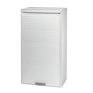 Mobile lavanderia Ice bianco L 66 x P 35 x H 120 cm