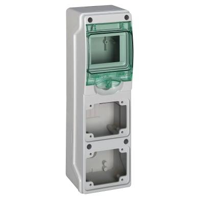 Quadro elettrico vuoto 4 moduli IP65 SCHNEIDER