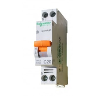 Interruttore magnetotermico 10A 1 modulo
