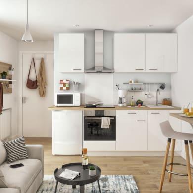 Cucina in kit DELINIA ID bianco L 270 cm